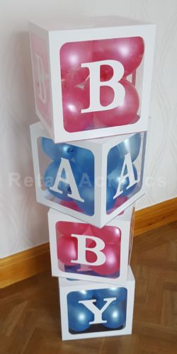 BABY Blocks Acrylic boxes - Large